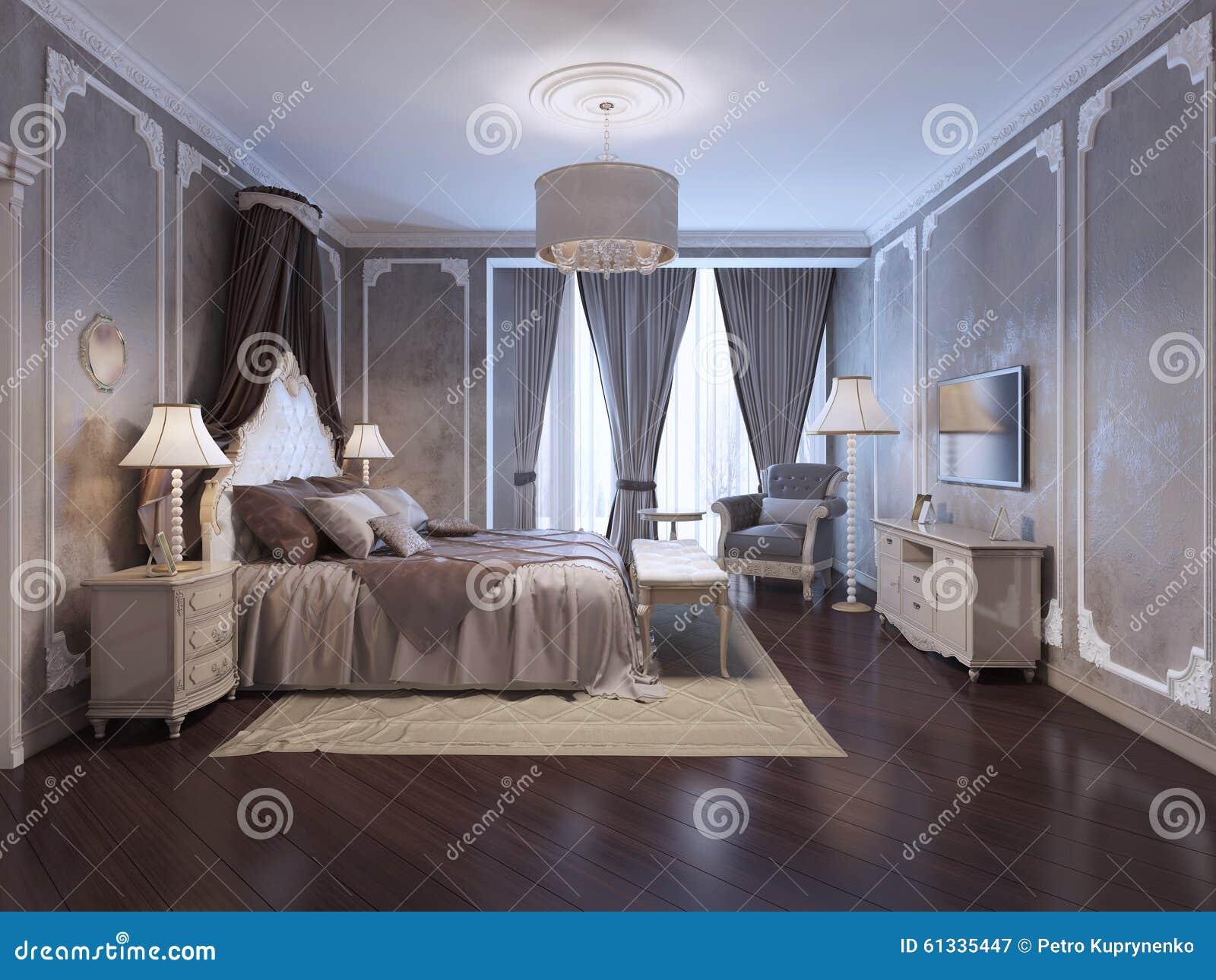 inspiration pour la chambre coucher dhtel de luxe photographie stock libre de droits - Chambre Dhotel De Luxe