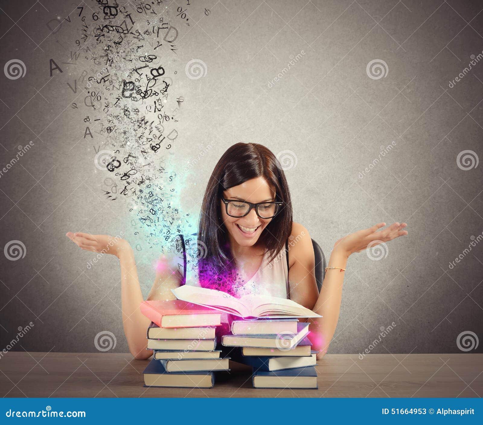 Inspiration von den Büchern