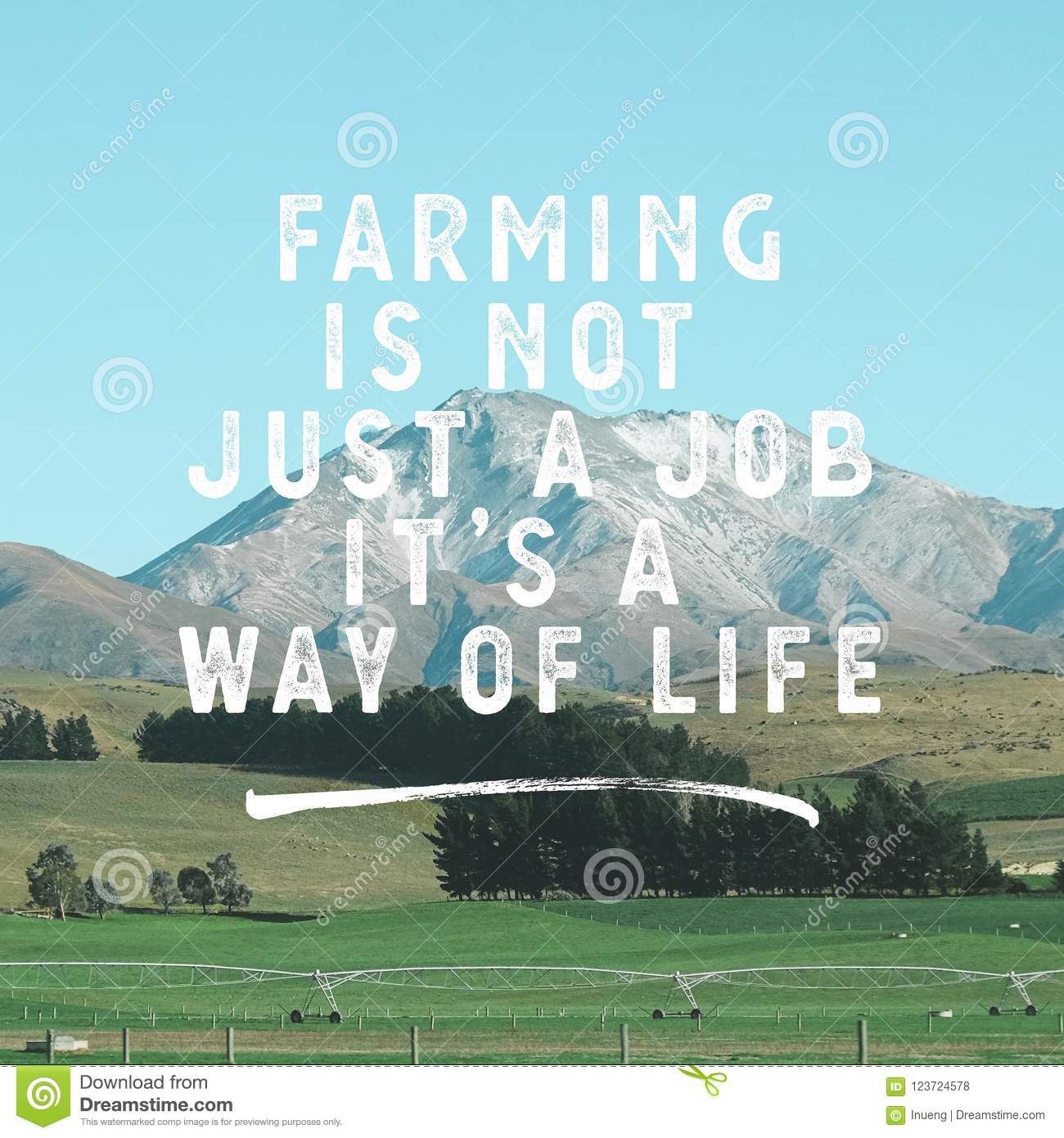 Inspirational Agricultural Quotes Farming Is Not A Job Its A Way