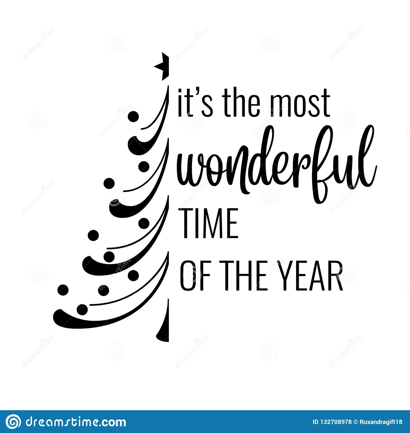 inspirational christmas quote stock vector illustration of
