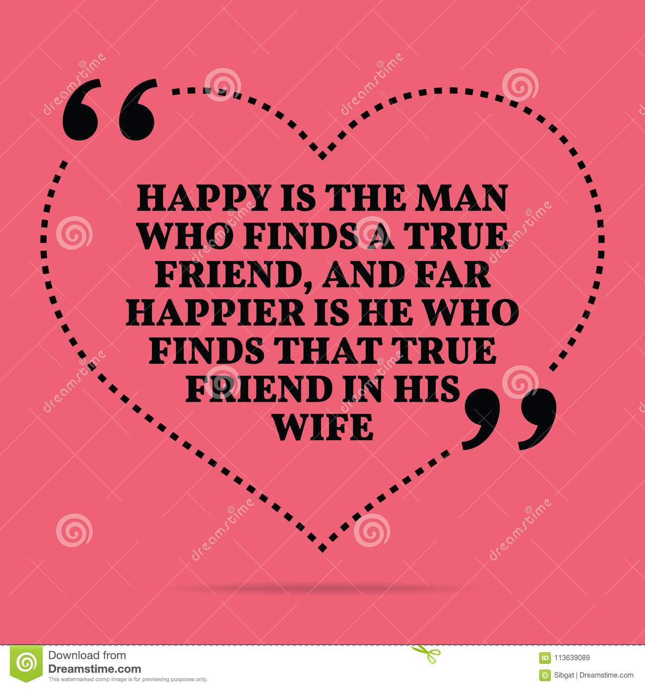 Inspirational Love Marriage Quote Happy Is The Man Who Finds A