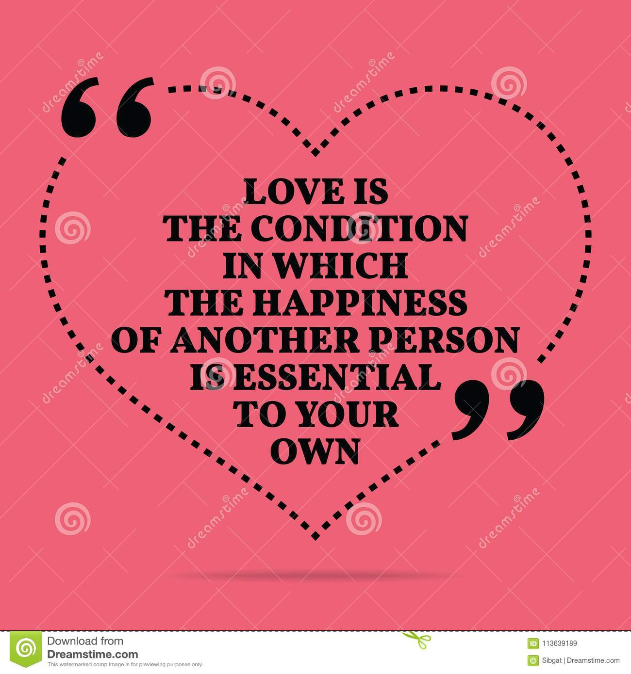 Inspirational Love Marriage Quote. Love The Condition In
