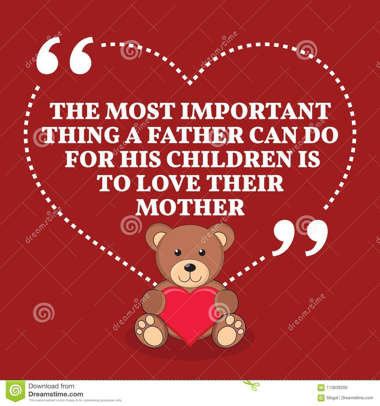 Inspirational Love Marriage Quote. The Most Important