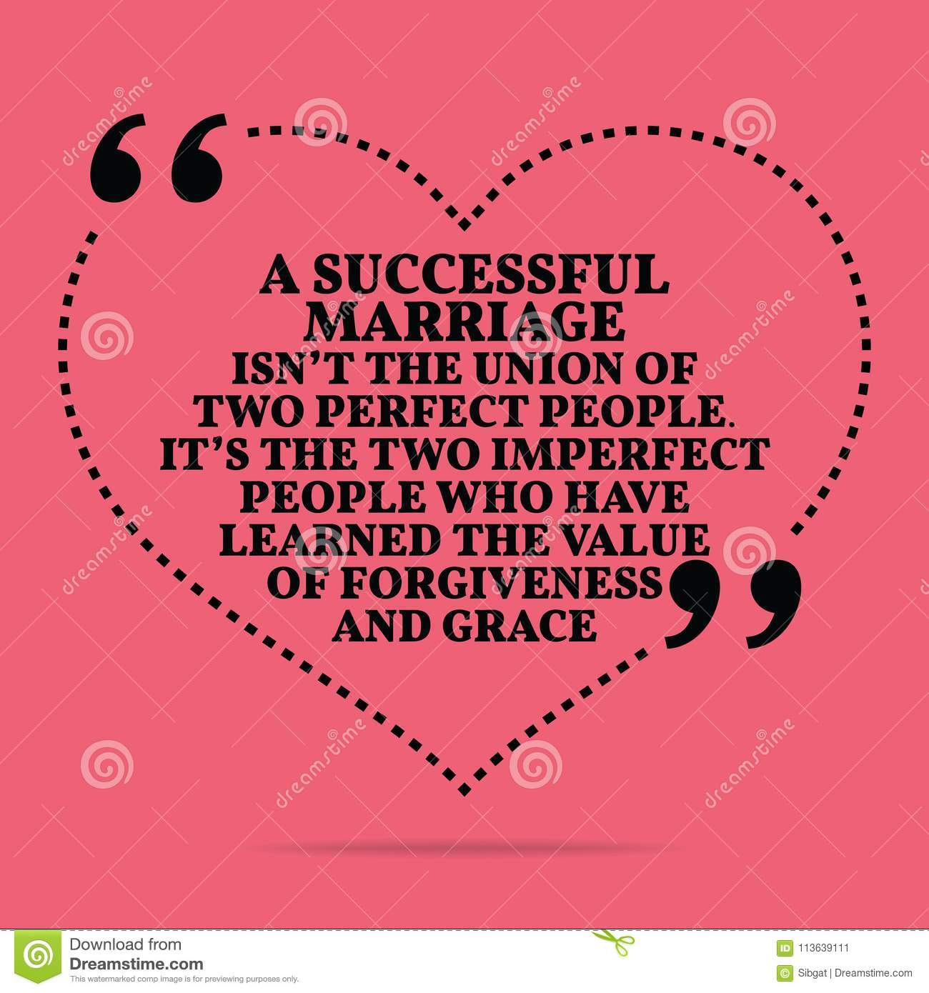 Inspirational Love Marriage Quote. A Successful Marriage