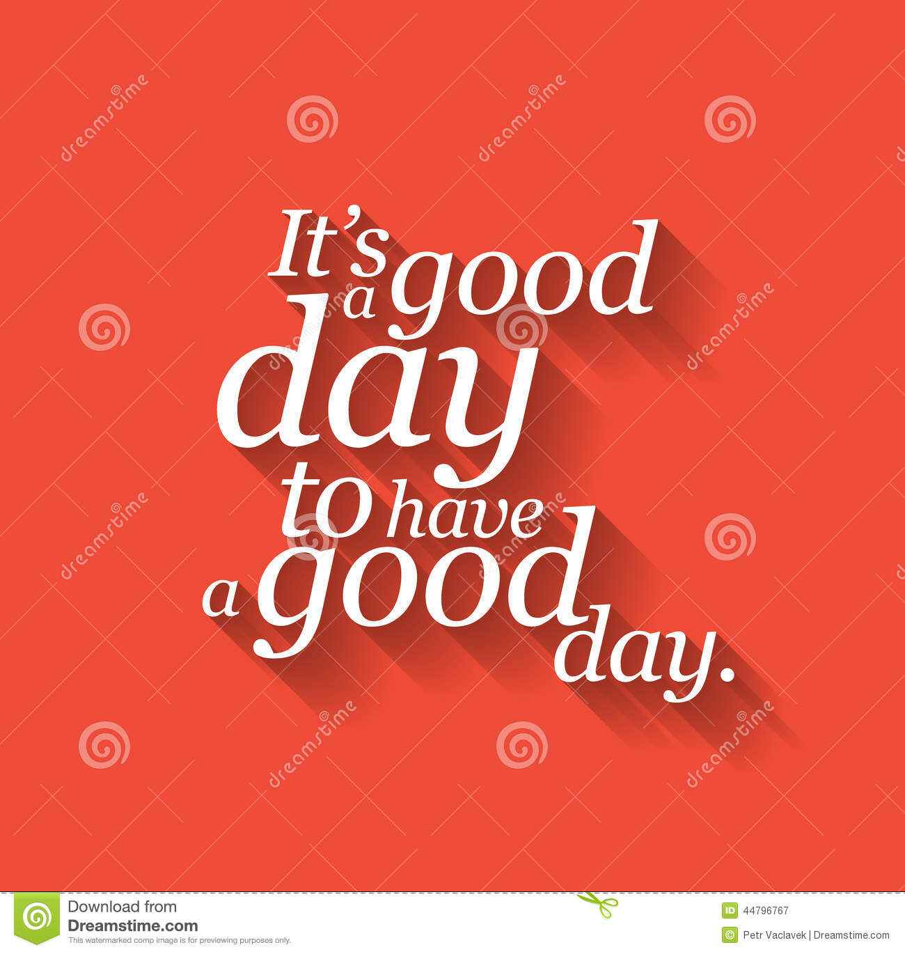 Inspirational Day Quotes: Inspirational Motivating Quote Stock Illustration