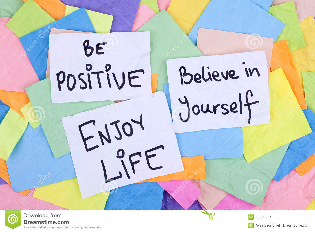 Inspirational Phrases Inspirational Phrases  Be Positive Believe In Yourself Enjoy Life