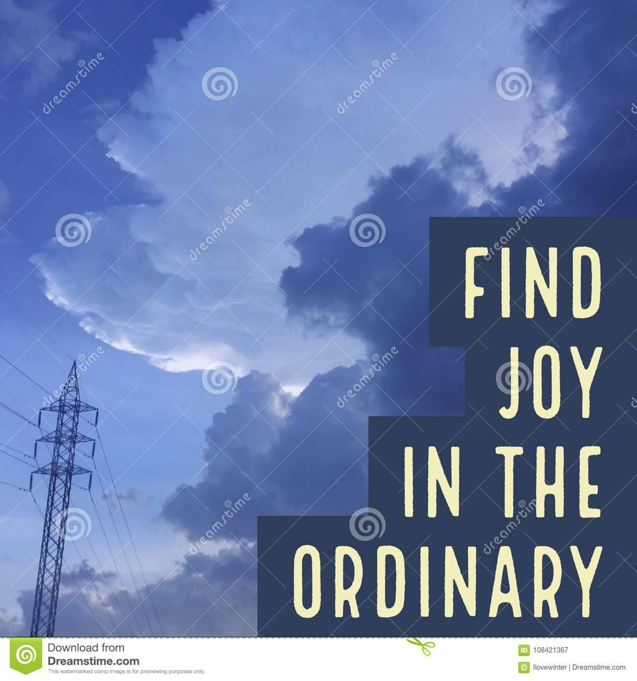 Dow Quotes Real Time: Joy Quote Stock Photos