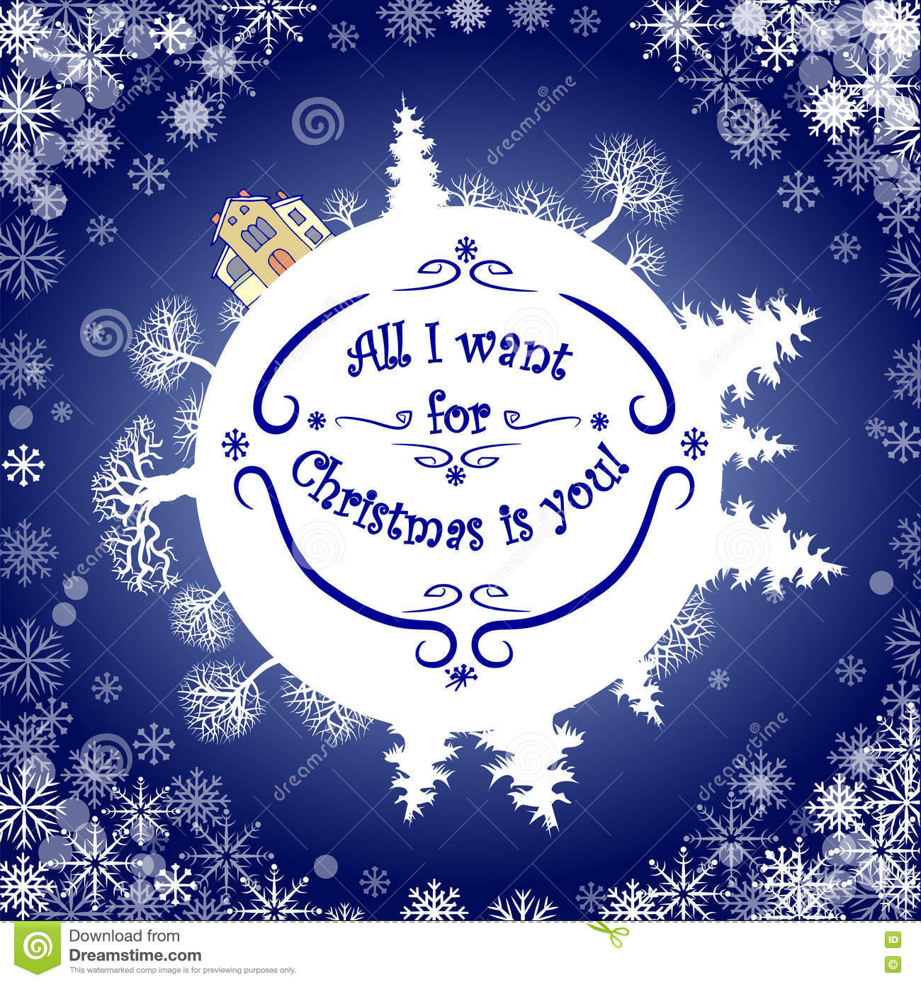 Inspirational Quote About Winterl I Want For Christmas Is You