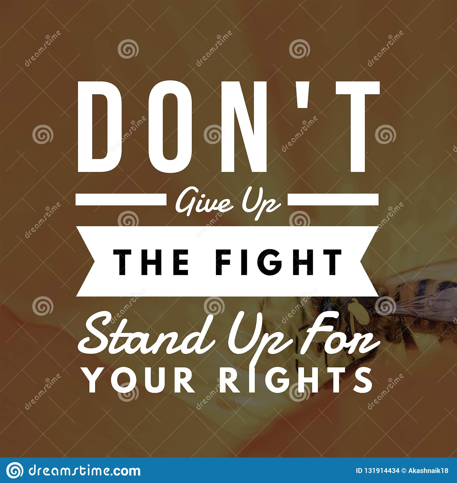 Inspirational Quotes Dont Give Up The Fight Stand Up For Your