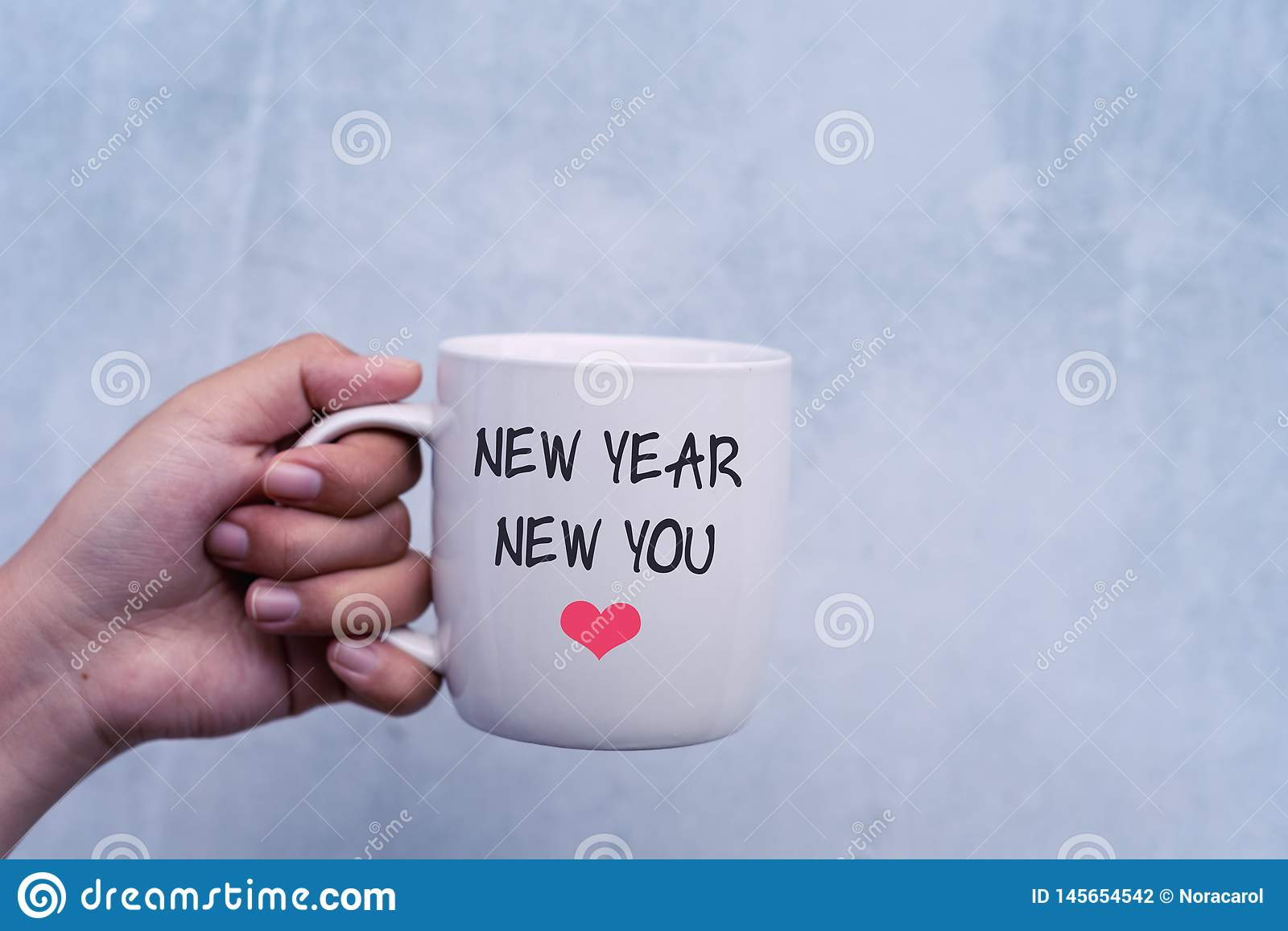 inspirational quotes new year new you stock photo image of hand