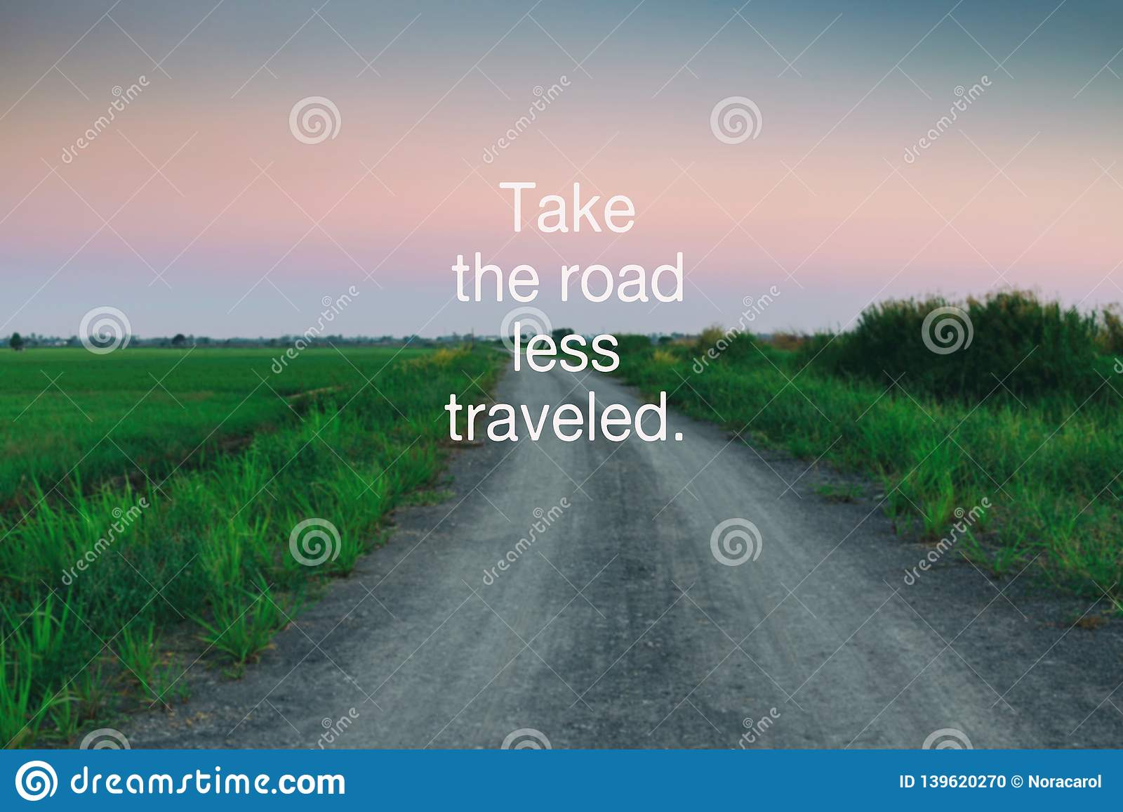 take the road less traveled stock illustration illustration of