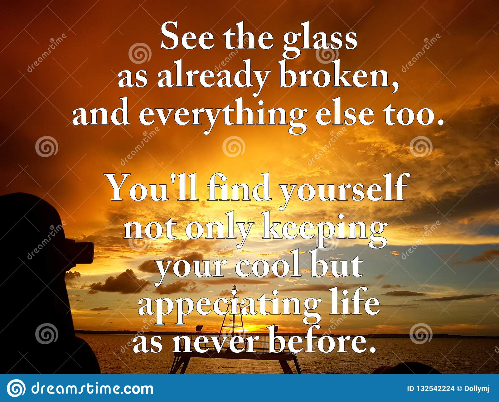 Quotes For Simple Thing In Life Stock Photo - Image of ...