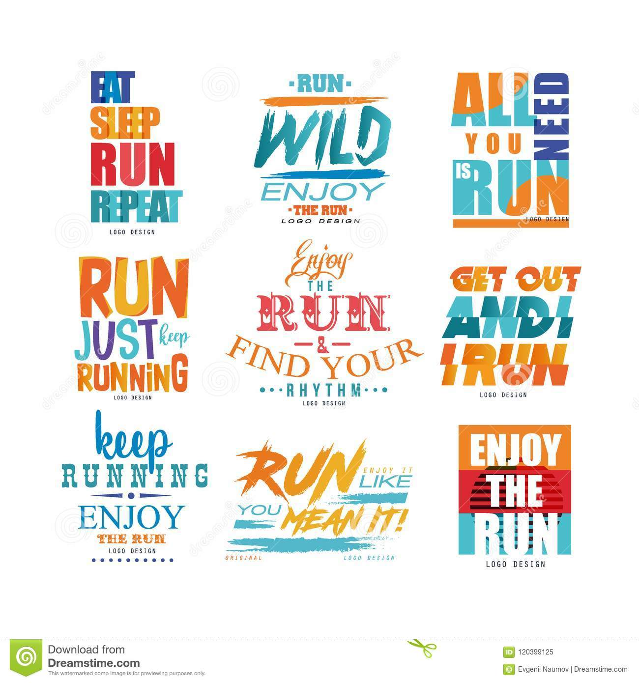 MOTIVATIONAL  POSTER RUNNING INSPIRATIONAL 5 PRINT PICTURE