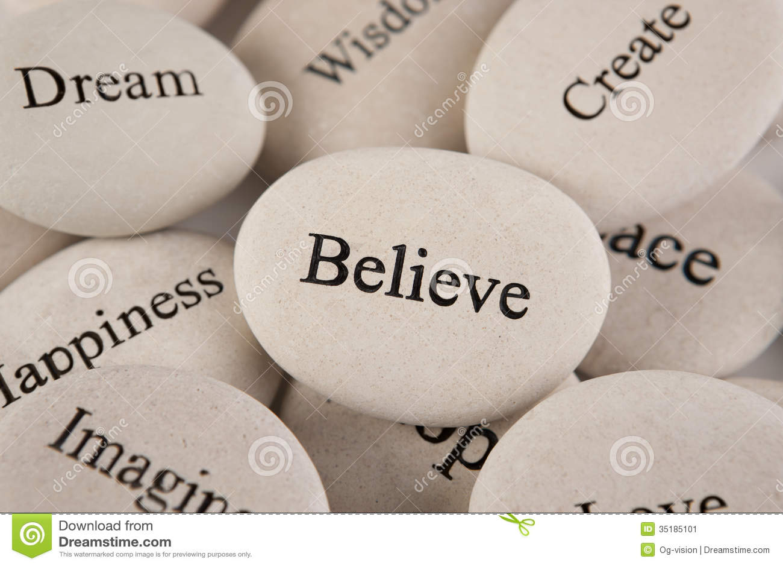 inspirational stones stock image image 35185101