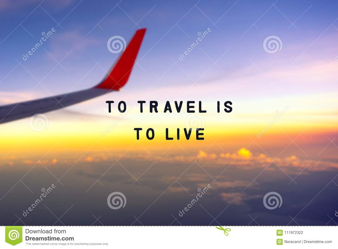 To Travel Is Live Stock Photo Image Of Card Happiness
