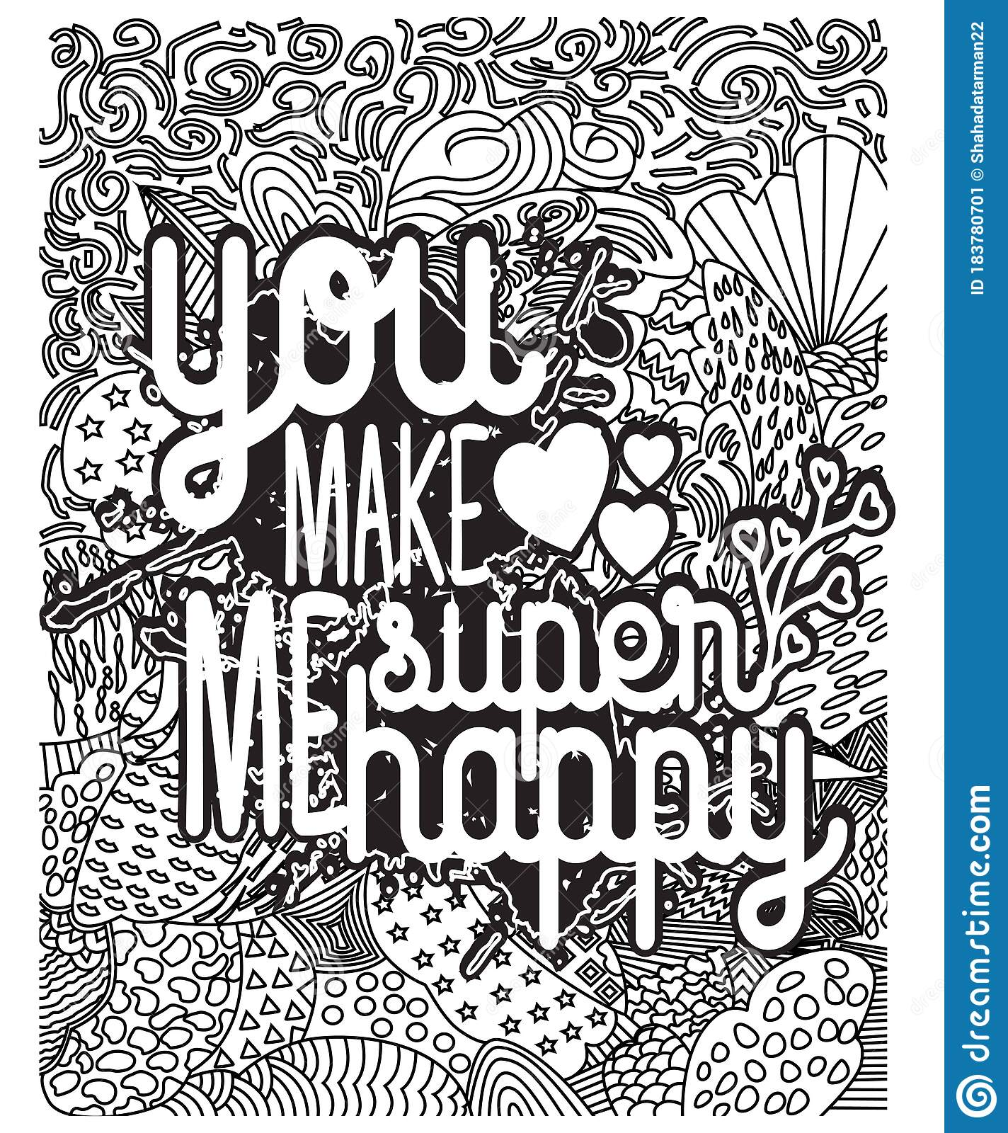 - Inspirational Words Coloring Book Pages.motivational Quotes