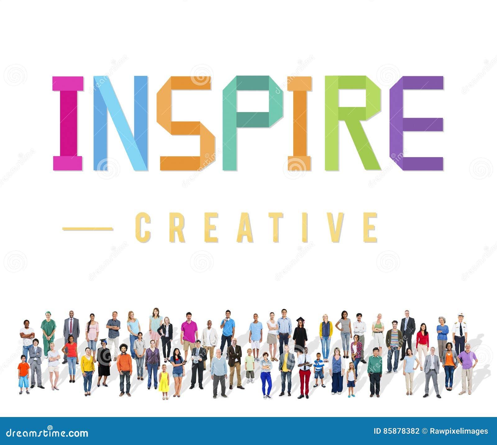 Inspire esperanzado creen que innove la aspiración Vision concepto