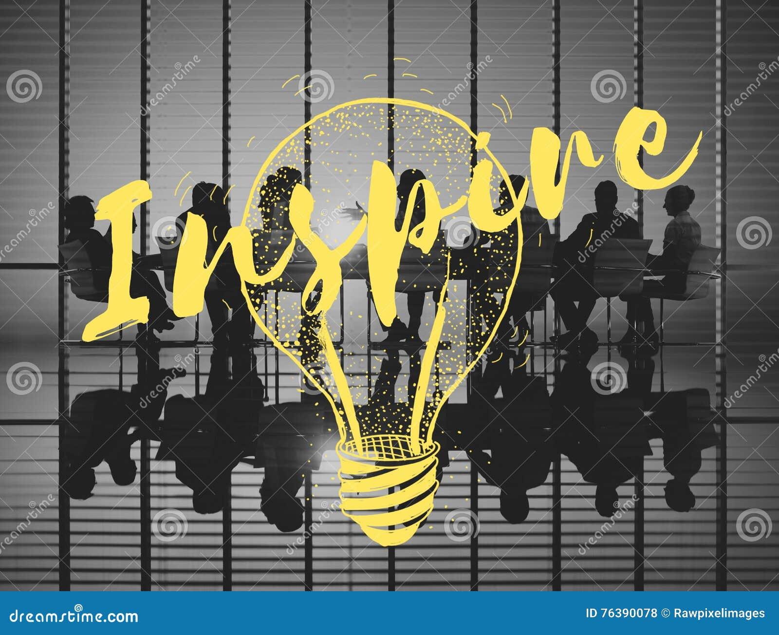 Inspire o conceito criativo da faculdade criadora da motivação da inspiração