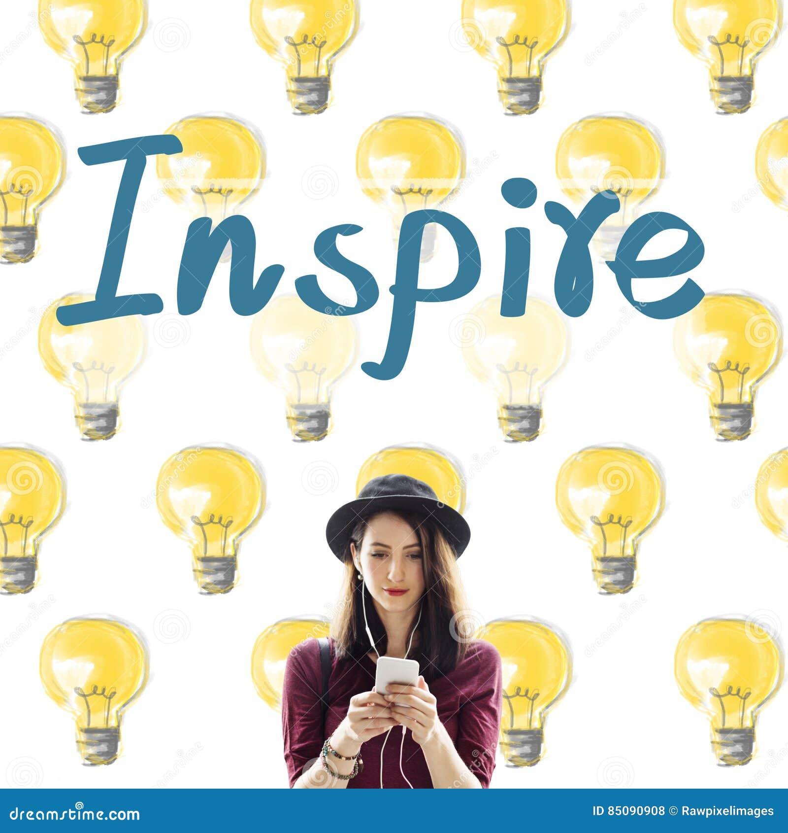 Inspireer het Concept van de de Verbeeldingsinnovatie van het Aspiratiesdoel