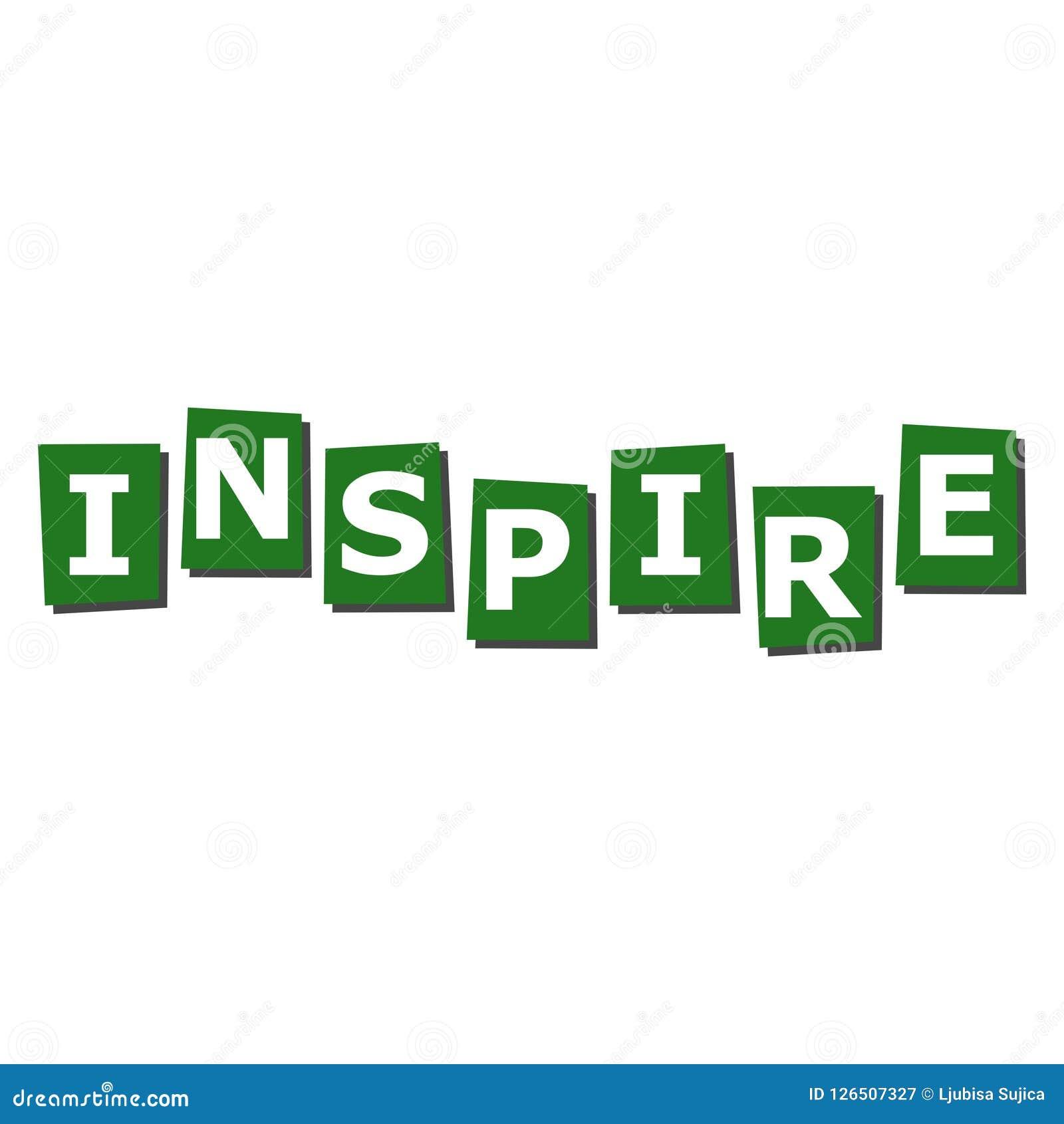 Inspirez l icône de lettrage