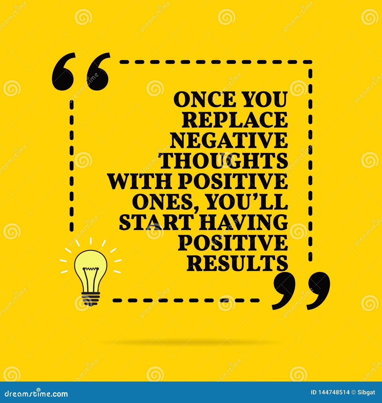 Zitate Negative Gedanken