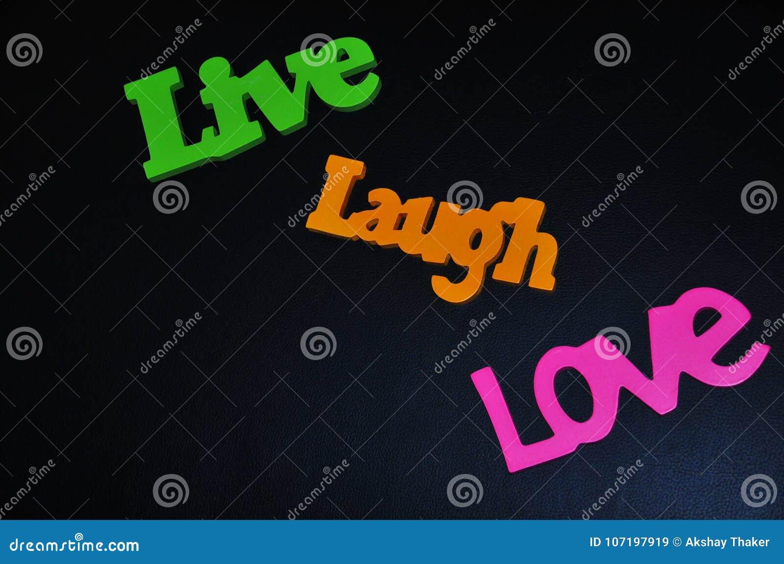 Inspirierend Wörter Des Glücklichen Lebens Leben Lachen Und Lieben
