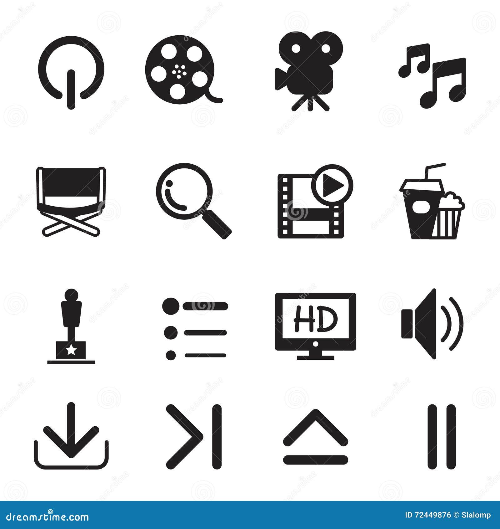 Inställda filmsymboler