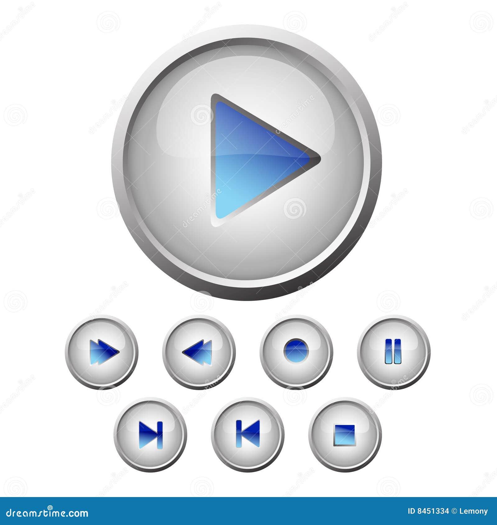 Inställda knappar