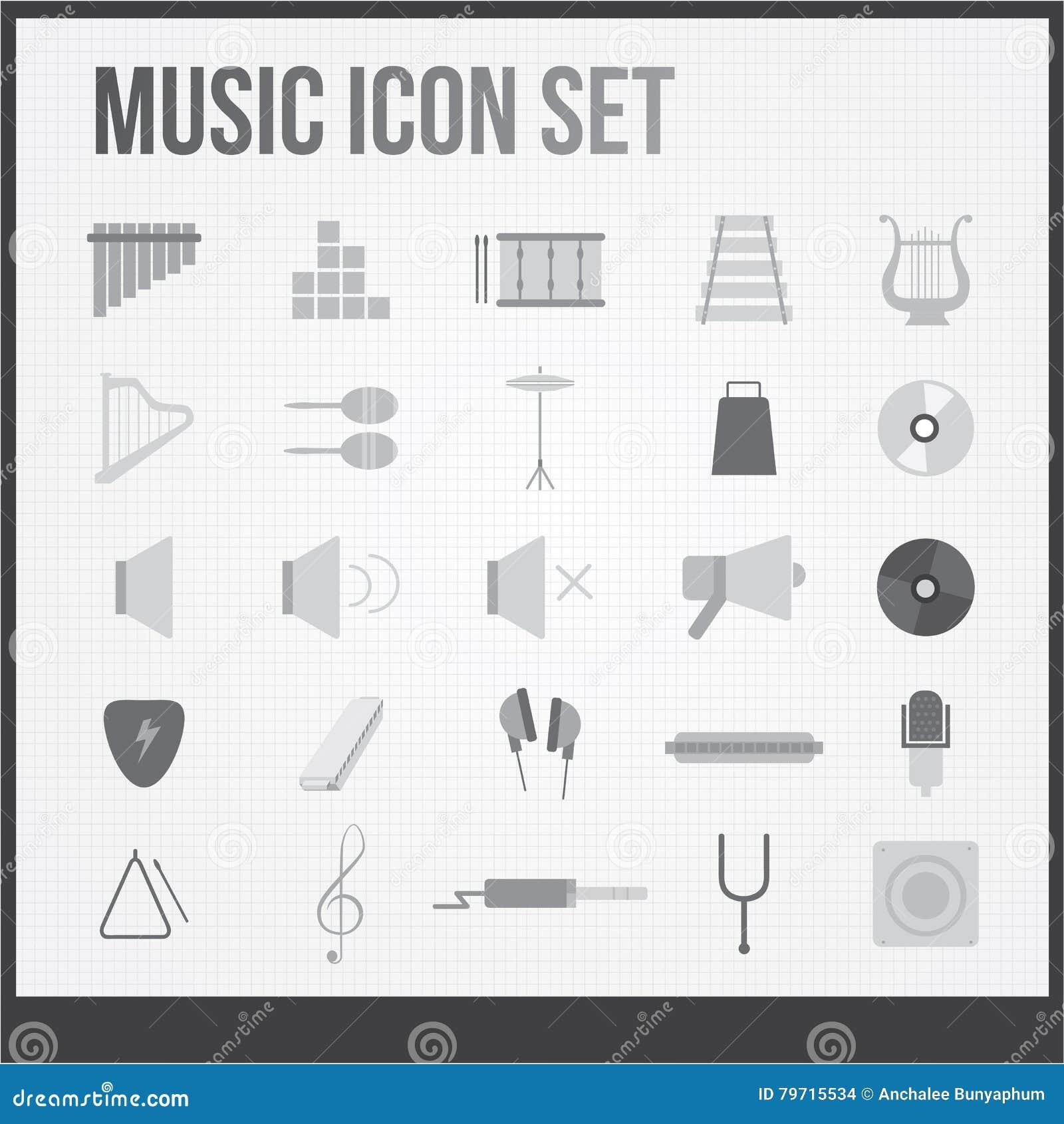 Inställda musiksymboler
