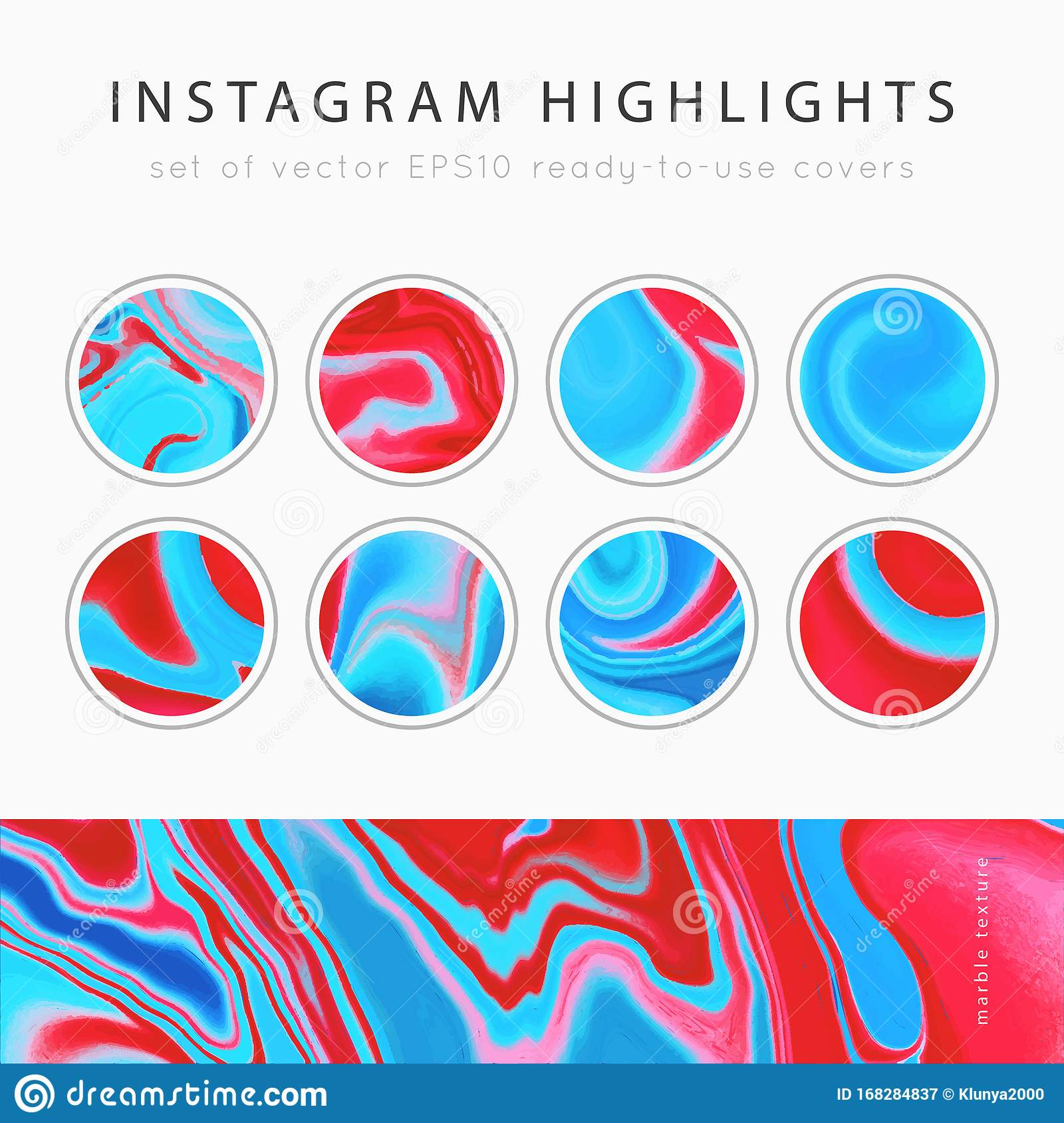 Instagram Highlight Covers Vector Stock Illustration Illustration Of Abstract Badge 168284837
