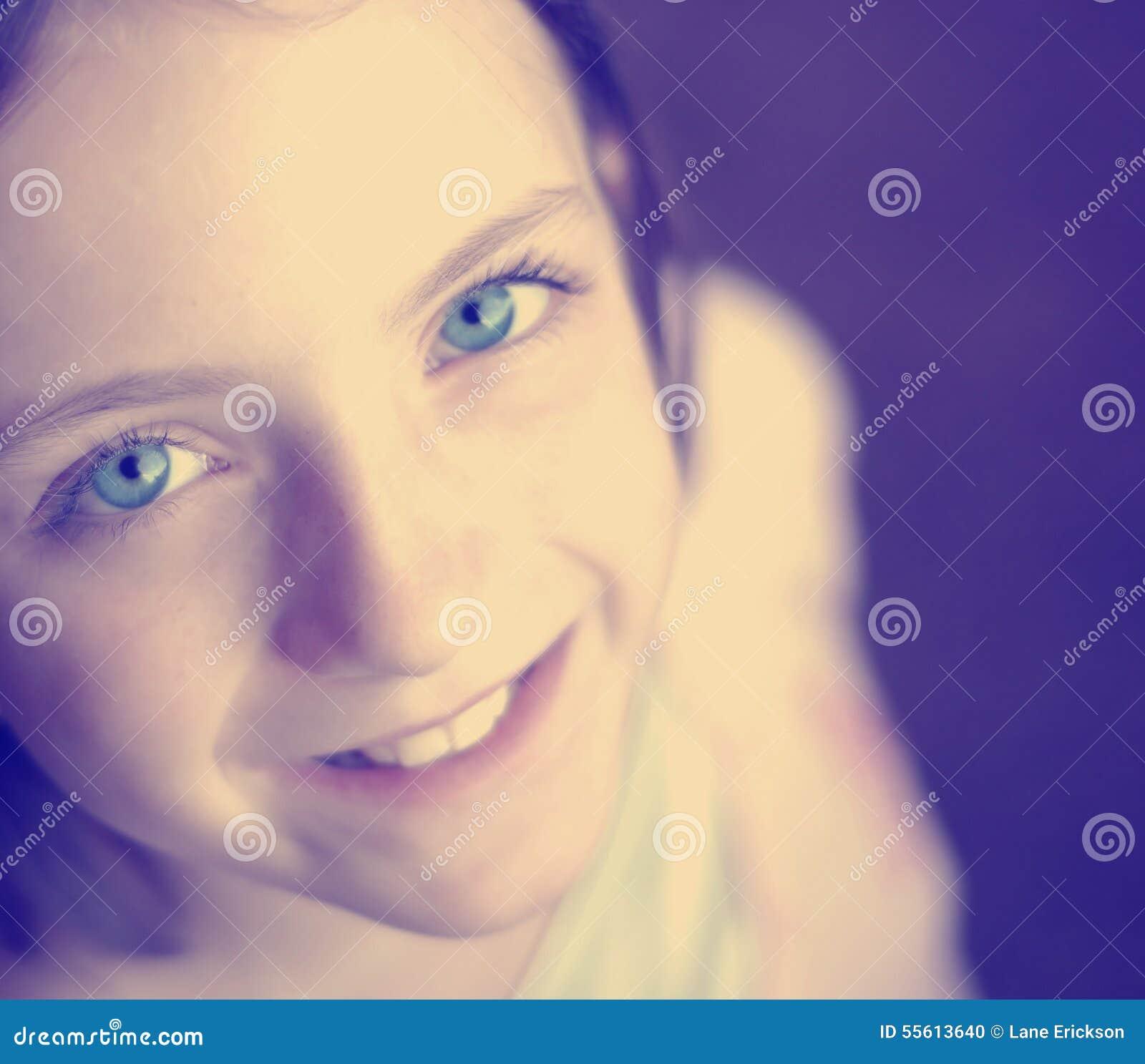 instagram selfie cute girl stock photo   image 55613640