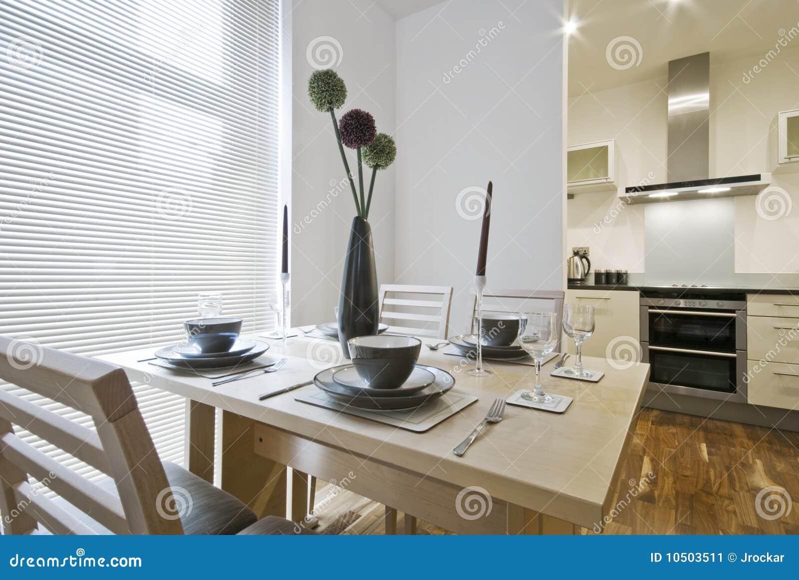 Instalação da tabela de jantar