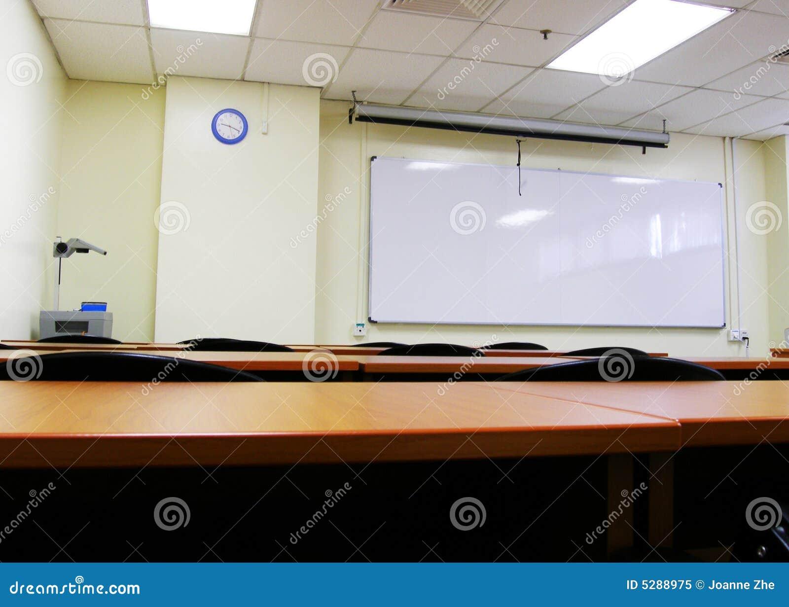 Instalação do quarto de seminário