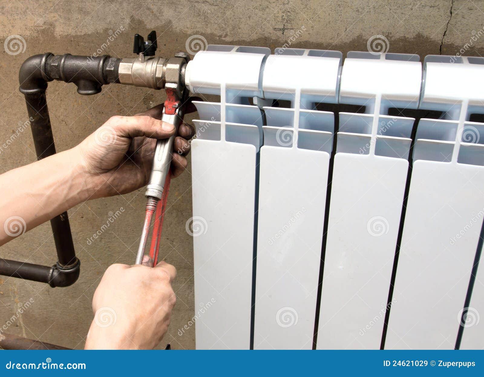 Instalación de un radiador