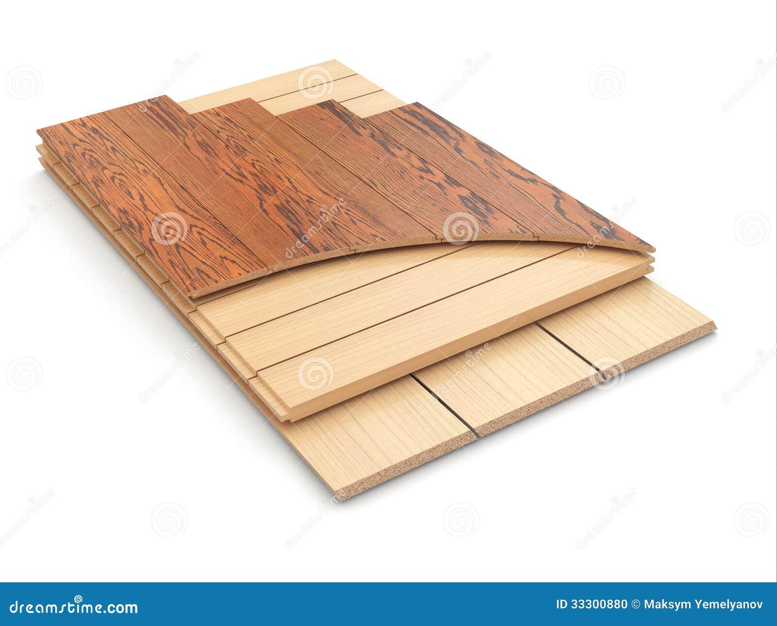 Instalaci n del piso laminado y de las muestras de madera stock de ilustraci n ilustraci n de Instalacion piso madera