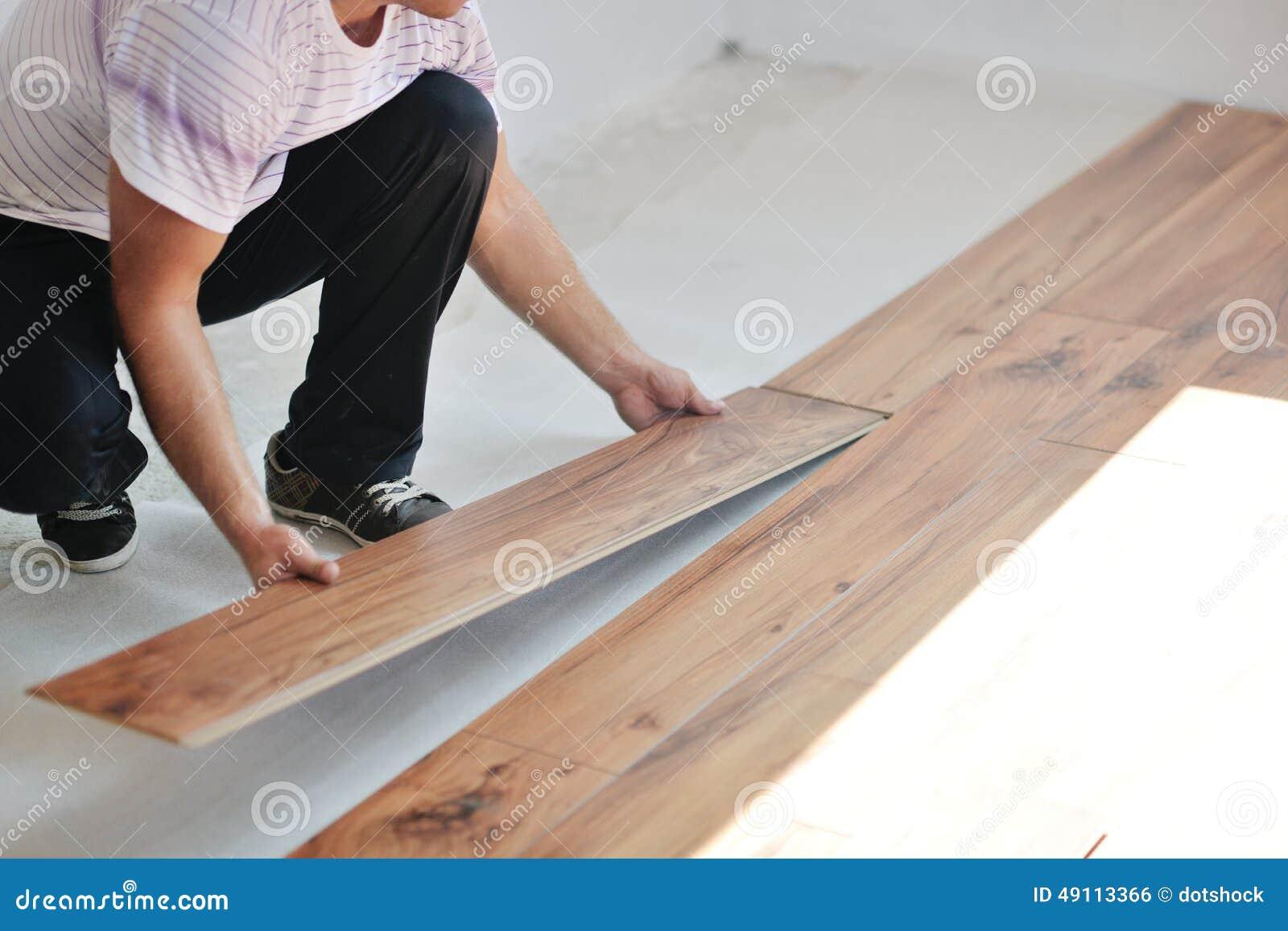 Instalación del suelo laminado