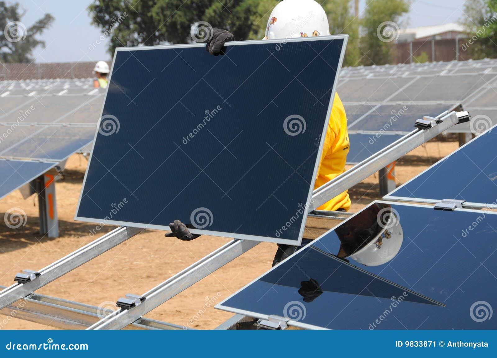 Instalacja kasetonuje słonecznego