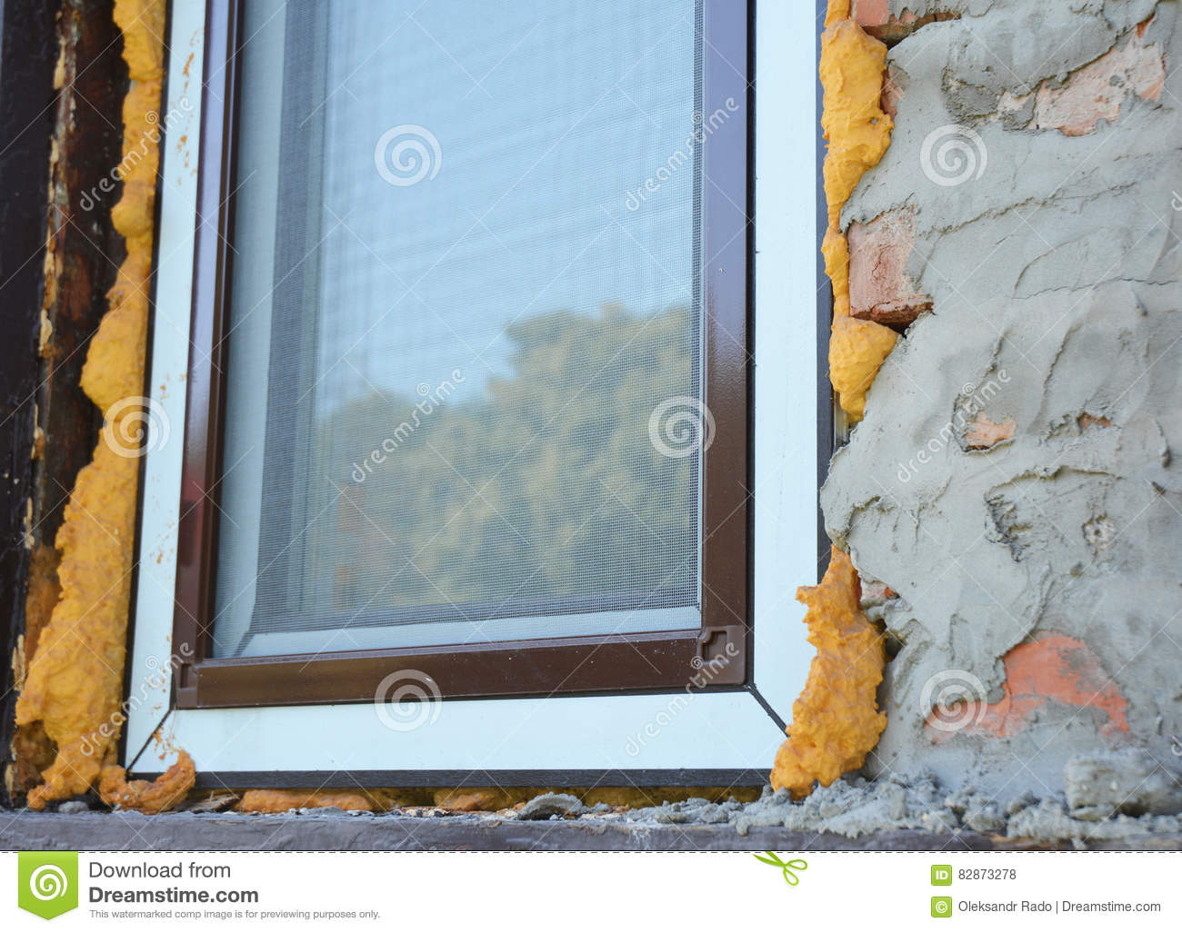 Exterior window insulation for Front door insulation kit