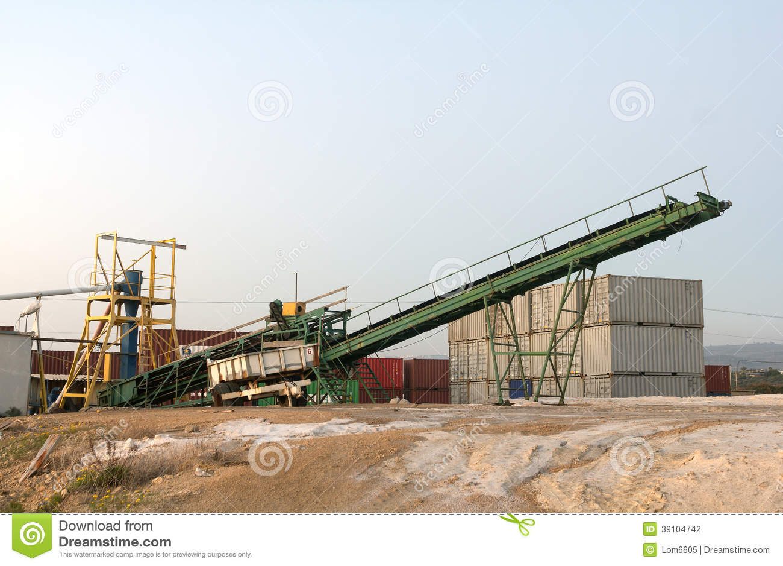 Installatie voor de extractie van zout