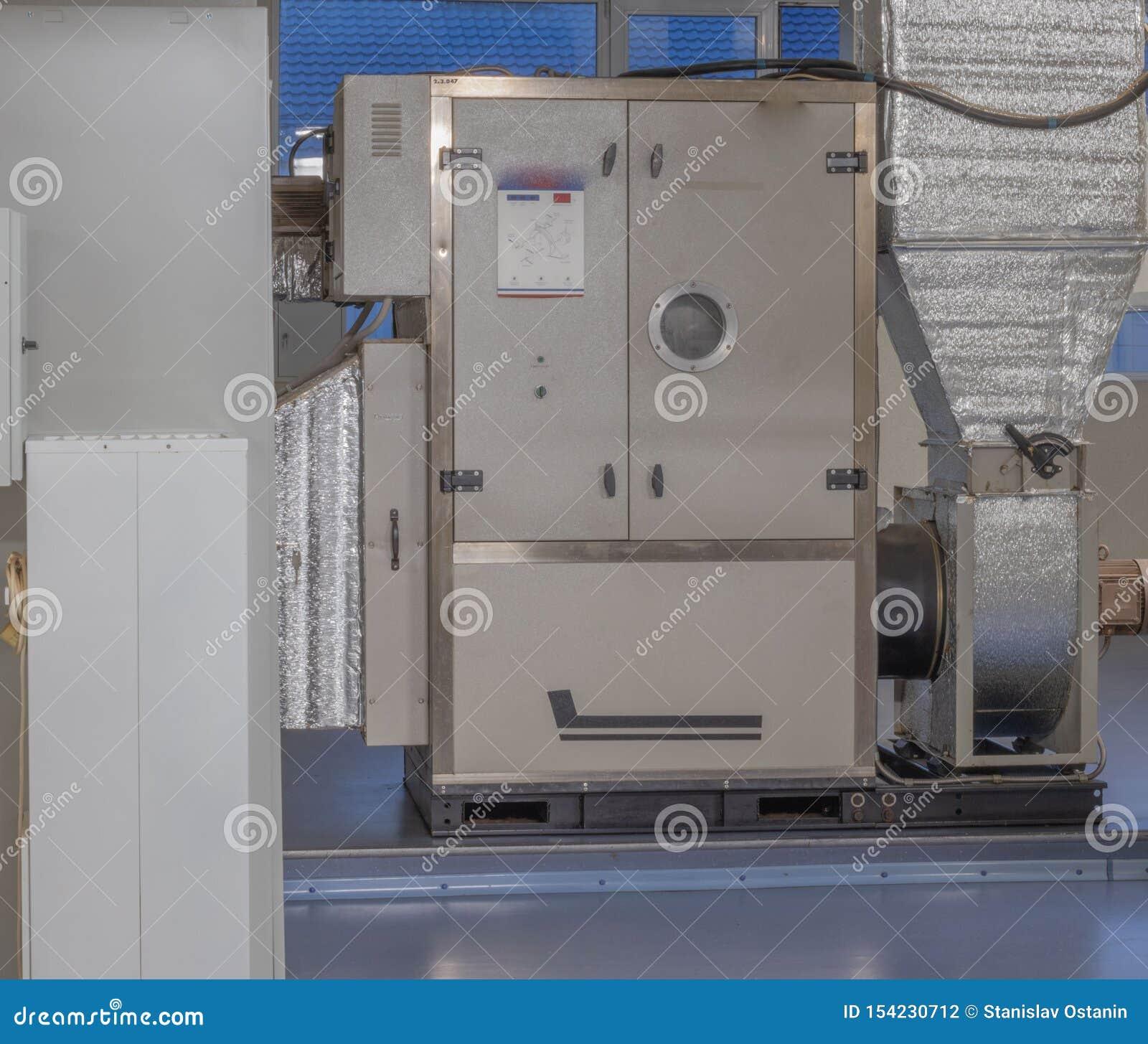 Installation de dessiccateur d air à l intérieur des bâtiments