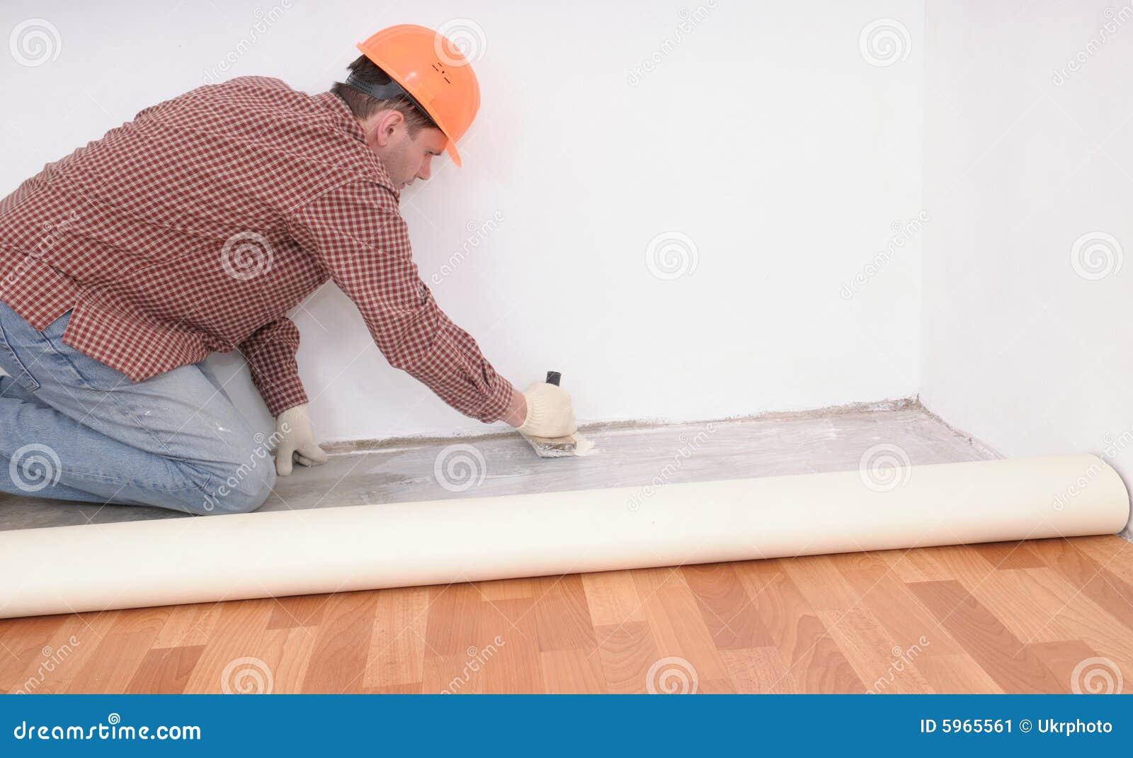 Installation de plancher