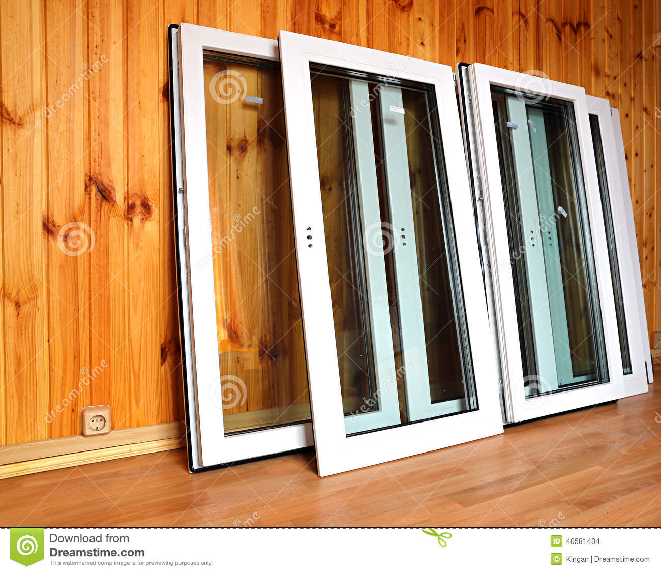 Installing plastic windows in a wooden house do it yourself 95