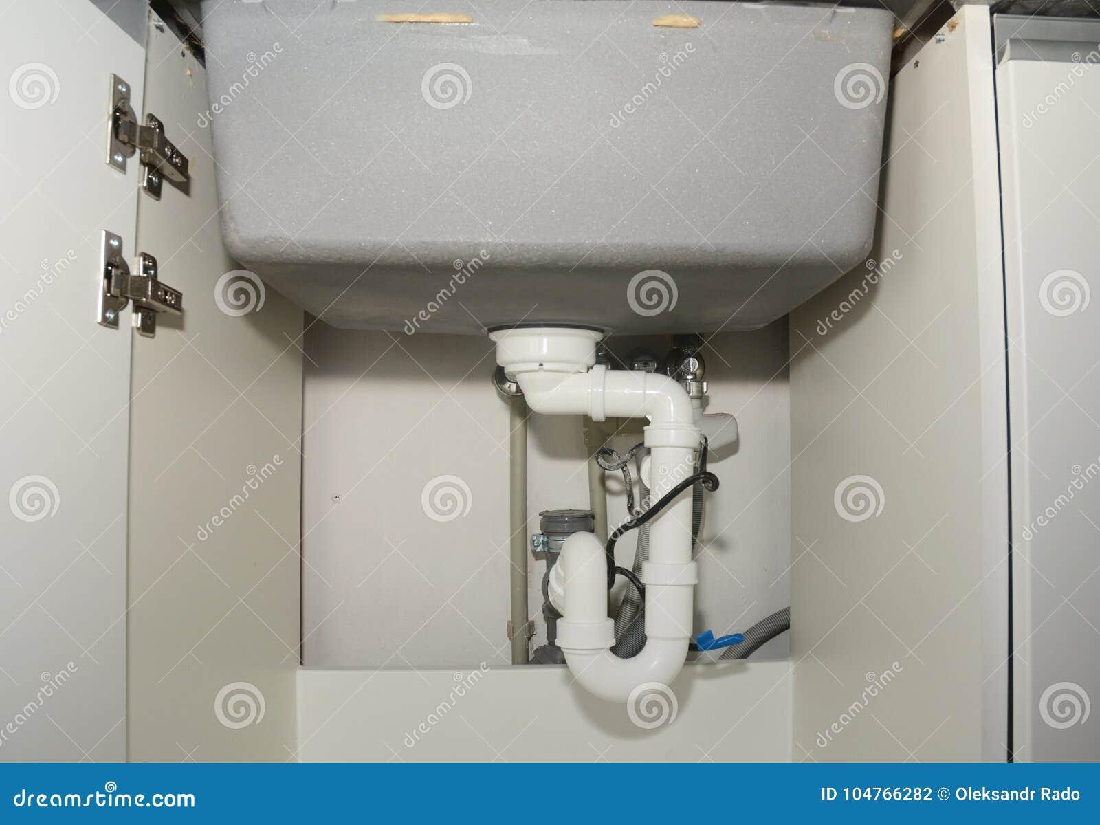 Tubo Scarico Lavandino Bagno installazione ceramica del lavandino di cucina con