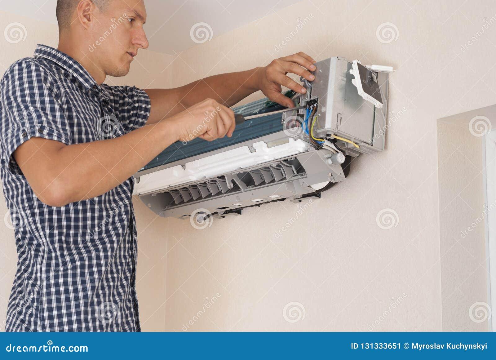 Installazione e riparazione del condizionatore d aria