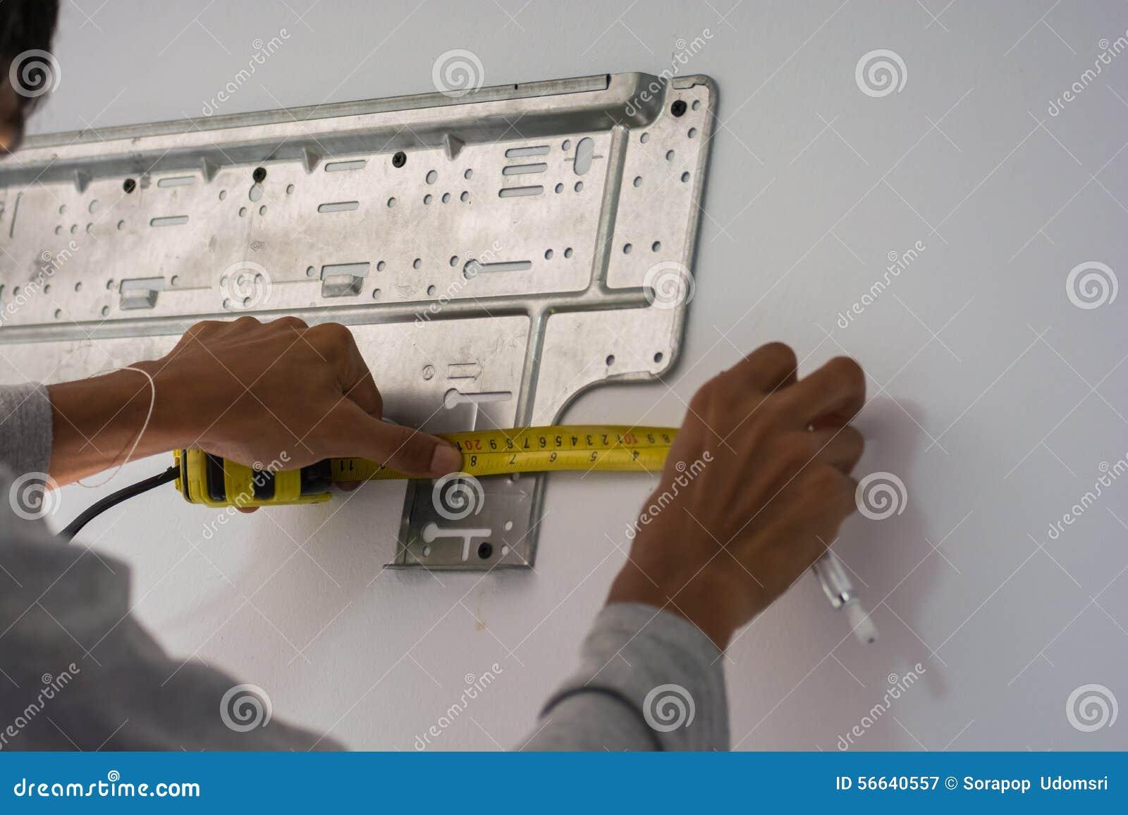 Installeer airconditioner