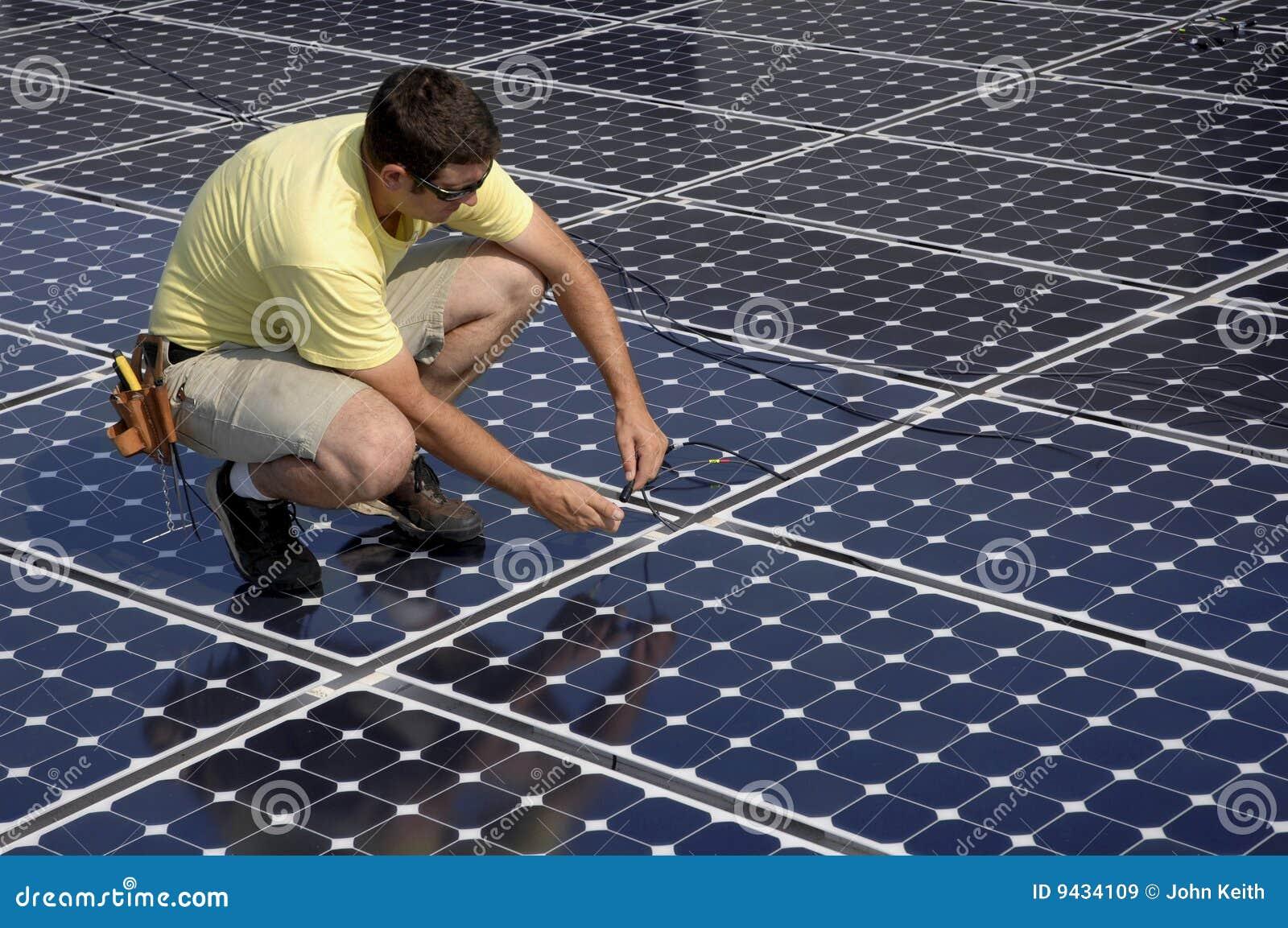 Installera den sol- panelen