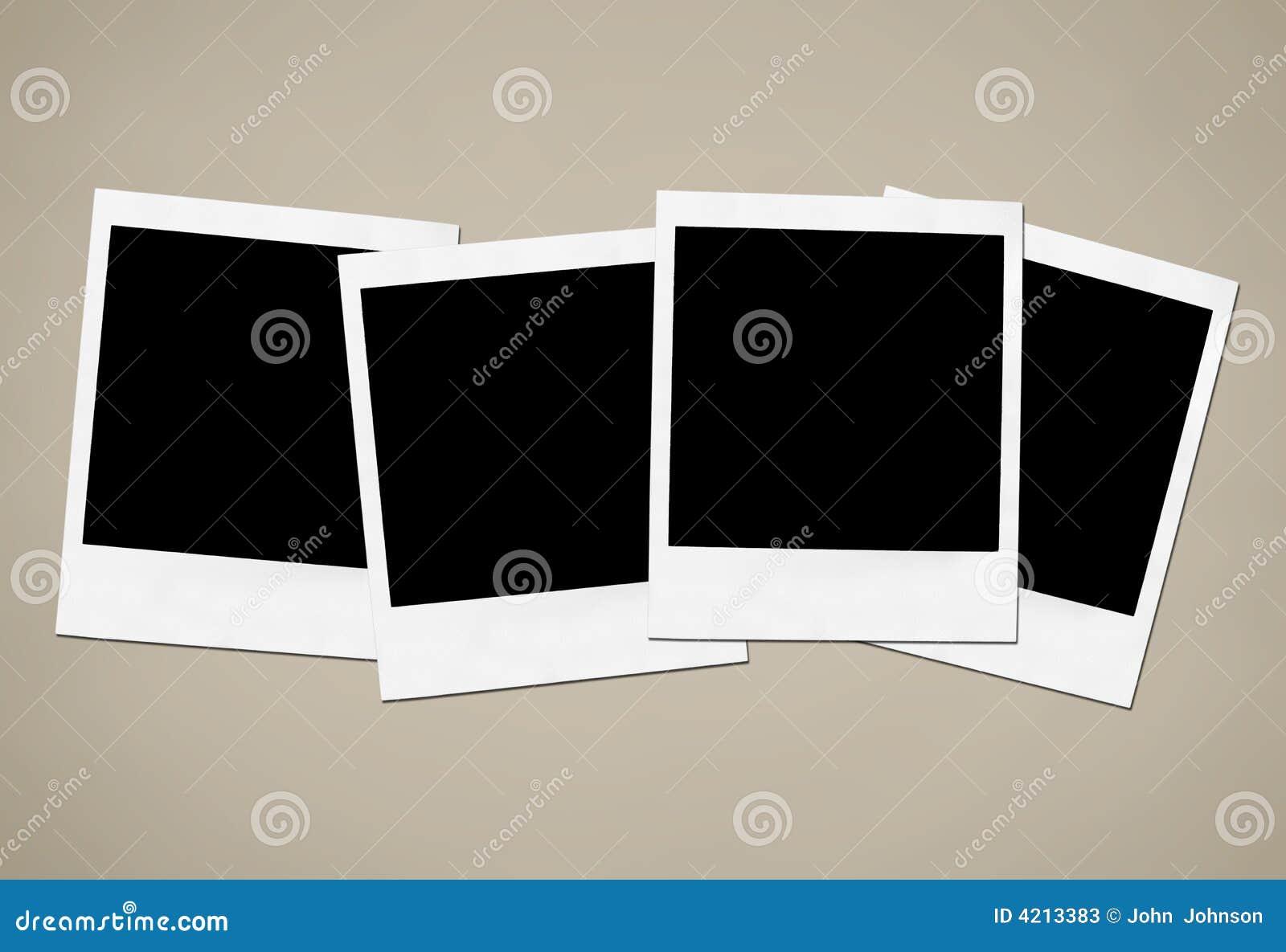 Instant Camera Frames Stock Image Image Of Fine Large