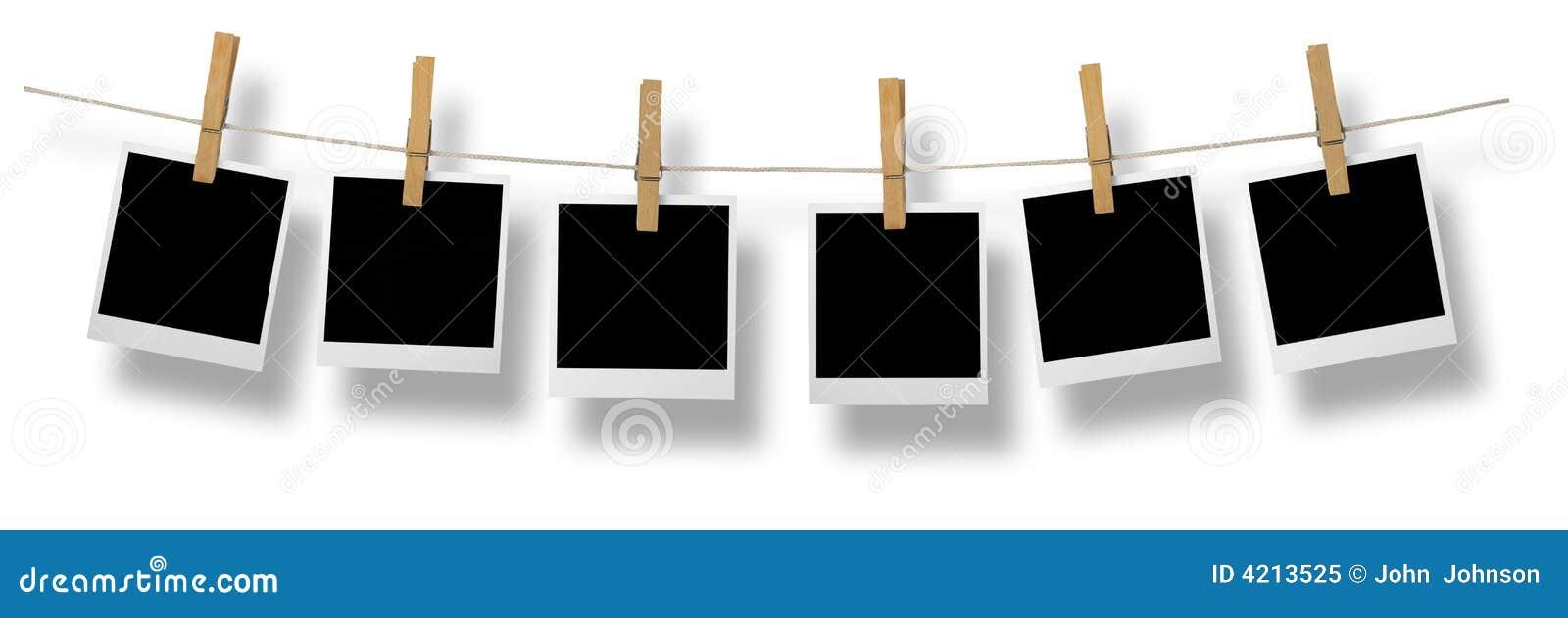 Die Bilder -> Polaroid Frame-Hintergrund