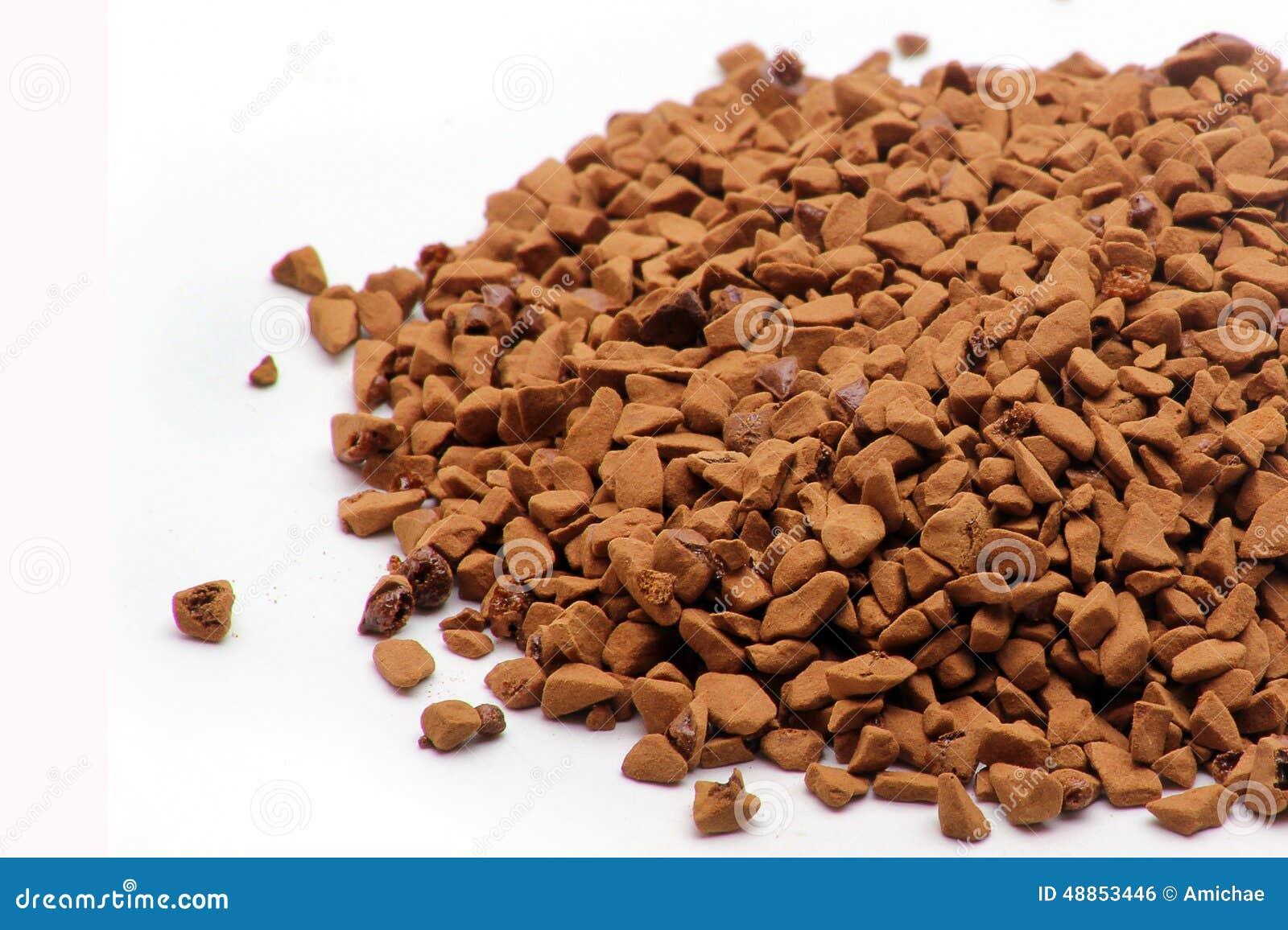 instant espresso coffee granules