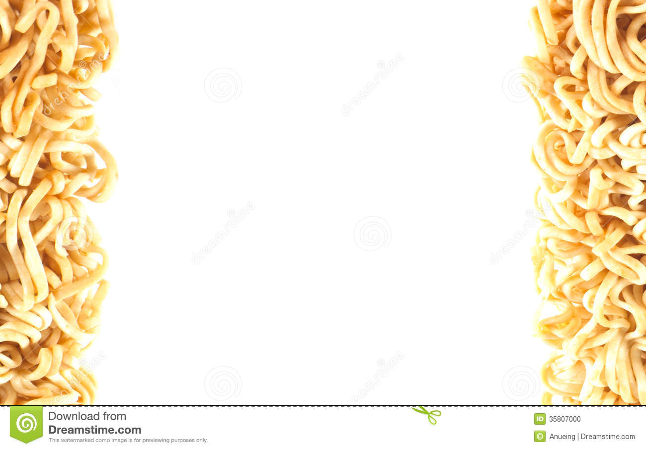 Instant Noodle Background. Stock Photo - Image: 35807000
